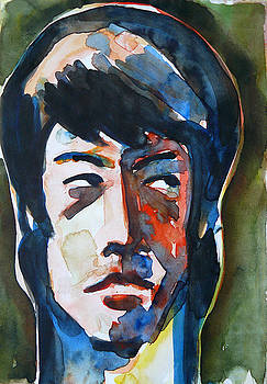 Bruce Lee - A Portrait by Abin Raj