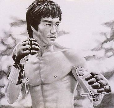Bruce Lee - Enter The Dragon by Mike OConnell