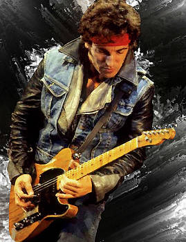 Bruce Springsteen 2 by Brian Tones