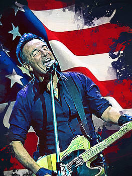 Bruce Springsteen by Afterdarkness
