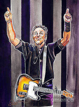 Bruce Springsteen by Dave Olsen