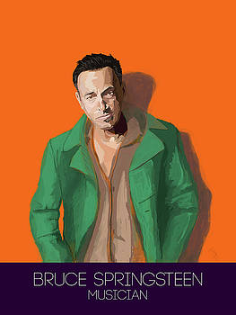 Bruce Springsteen by Tito Victoriano