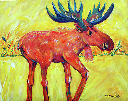Bruce the Moose by Andrea Folts