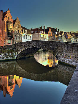 Bruges Twighlight by Peter Kennett