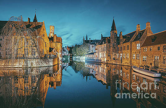 Brugge City Lights by JR Photography