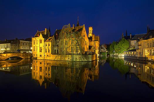Brugge Twilight by Renee Doyle