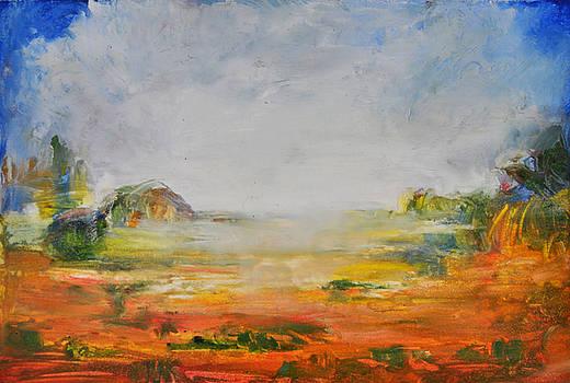 Brume sur la Lande by Muriel Dolemieux