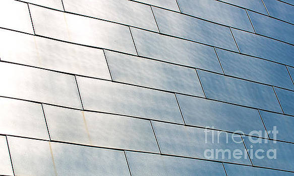 Brushed Stainless Steel panels on the BOK Center by ELITE IMAGE photography By Chad McDermott