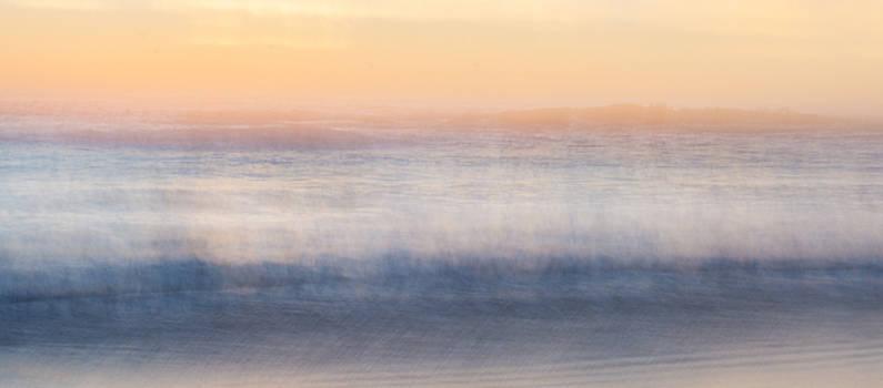 Brushed Sunset by Kelly McNamara