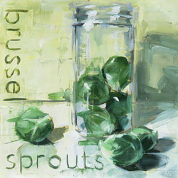 Brussel Sprouts by Annie Salness