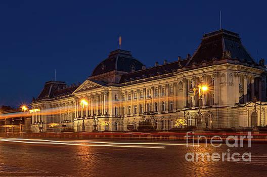 Brussels by Night, Royal Palace by Sinisa CIGLENECKI
