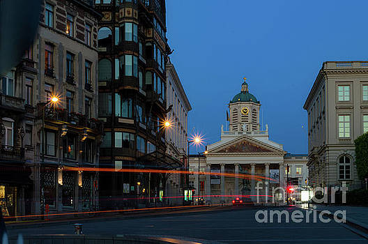 Brussels by Night, Coudenberg by Sinisa CIGLENECKI