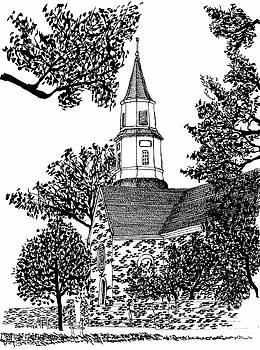 Bruton Parish Episcopal Church Historic District Williamsburg Virginia by Dawn Boyer