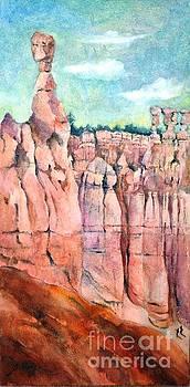 Bryce Canyon #1  by Betty M M Wong