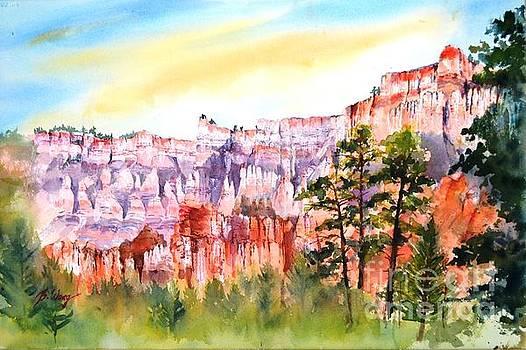 Bryce Canyon #3 by Betty M M Wong