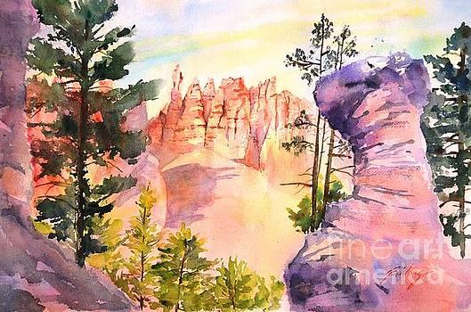Bryce Canyon #4 by Betty M M Wong