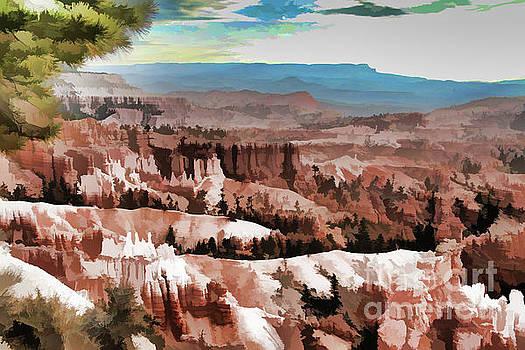 Chuck Kuhn - Bryce Canyon Dynamic Paint II