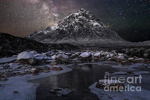 Buachaille and the Milkyway by John Farnan