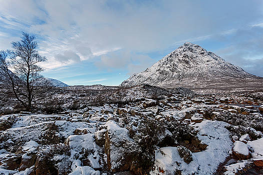 Buachaille Etive Mor in Winter by Derek Beattie