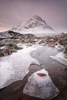 Buachaille Etive Mor Winter by Grant Glendinning