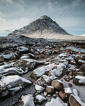 Buachaillie Etive Mor, Glencoe, Scotland by David Stanley