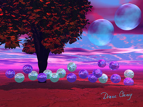 Bubble Garden by Diane Clancy