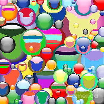 Bubble Heads by Lady Ex