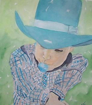 Bubblegum Cowboy by Sandra Woods