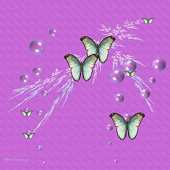 Bubbles and Butterflies by Rosalie Scanlon