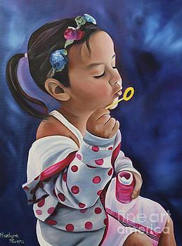 Bubbles by Barbara  Rivera