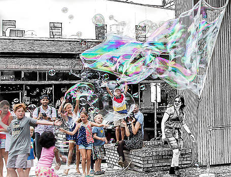 Bubbles by Bill Linhares