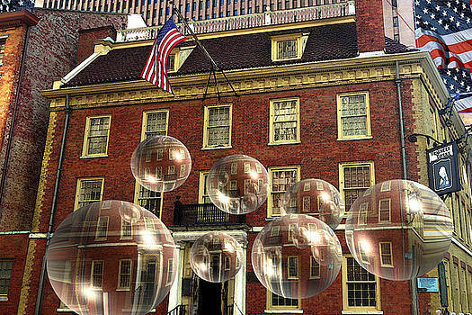 Art America Gallery Peter Potter - Bubbles of History - Fraunces Tavern New York
