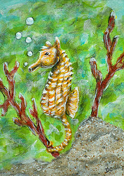 Bubbles the Sea Horse by Deborah Collier