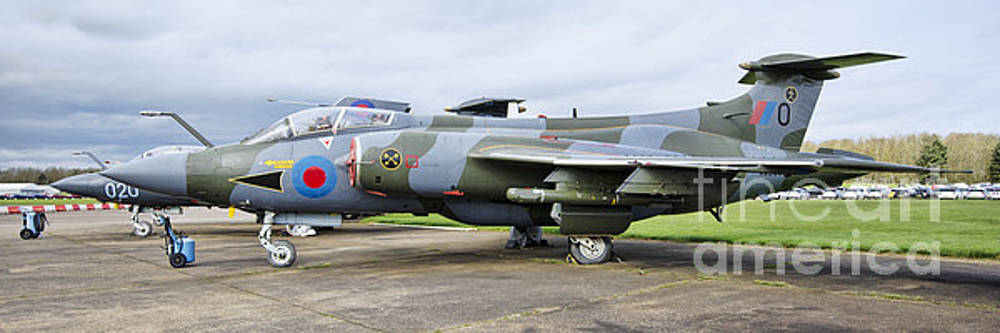 Buccaneer aircraft panoramic by Steev Stamford
