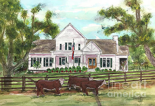 Buck and Bull Cattle Ranch by Tim Ross