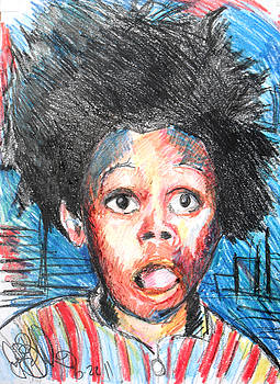 Jon Baldwin  Art - Buck Wheat Little Rascals