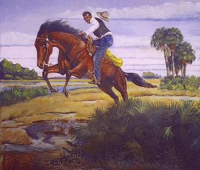 Bucking Bronco by Bill Roberts