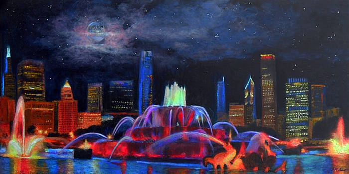 Michael Durst - Buckingham Fountain in Chicago