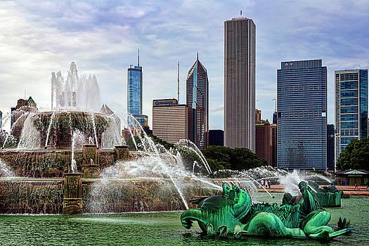 Buckingham Fountain by Kelley King