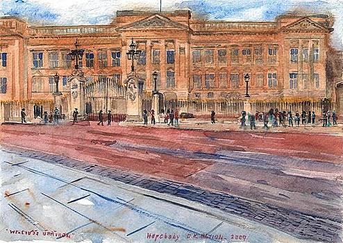 Buckingham palace London. by Hopebaby Pradit