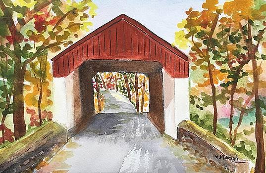 Bucks County Covered Bridge by Marita McVeigh