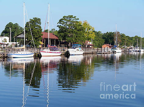 Bucksport on the ICW in Conway South Carolina by Louise Heusinkveld