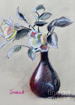 Bud Vase by Joyce A Guariglia