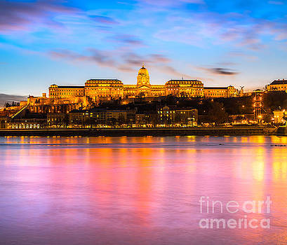 Budapest Castl - Hungary by Luciano Mortula