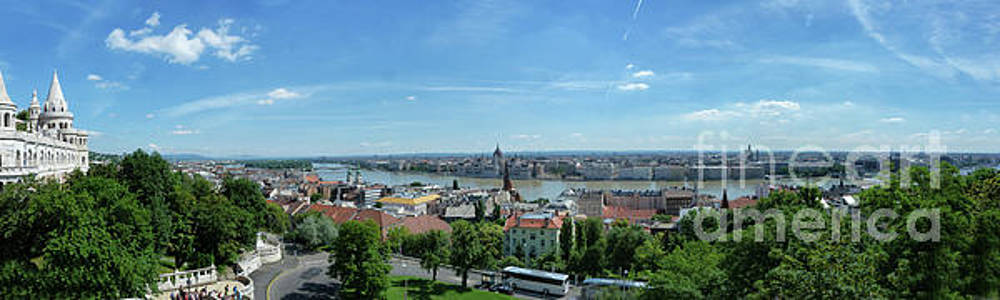 Budapest Panorama by Lynn Bolt