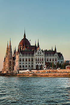 Sharon Popek - Budapest Parliament at Dusk