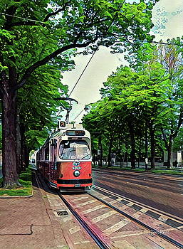 Budapest Trolley by Russ Harris