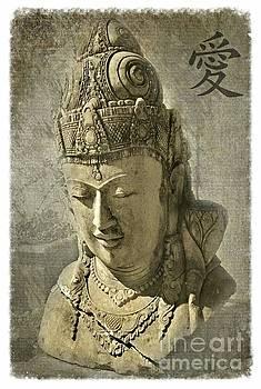 Budda Head 1 by Scott Parker