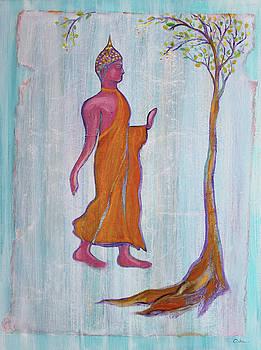 Walking Buddha and the Raintree by Asha Carolyn Young