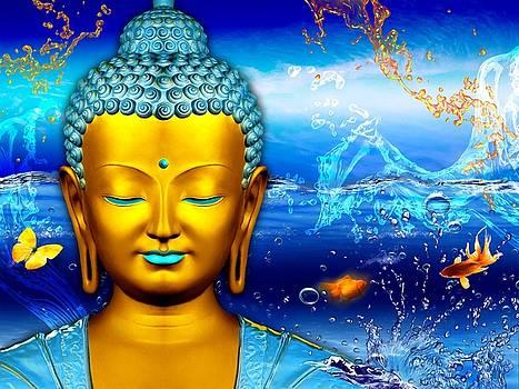 Buddha Aquarium by Khalil Art